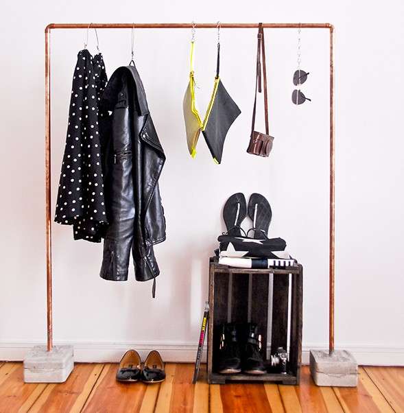 Copper-Pipe-Clothes-Rack-1