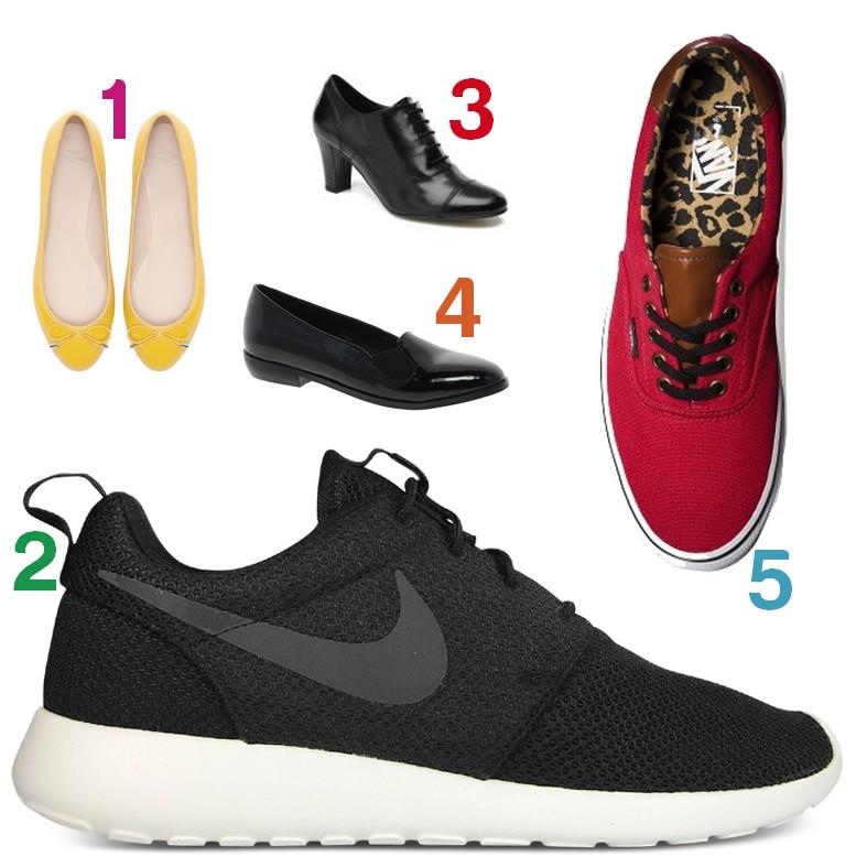 choix chaussures