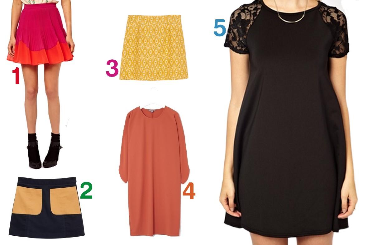 choix robe et jupe