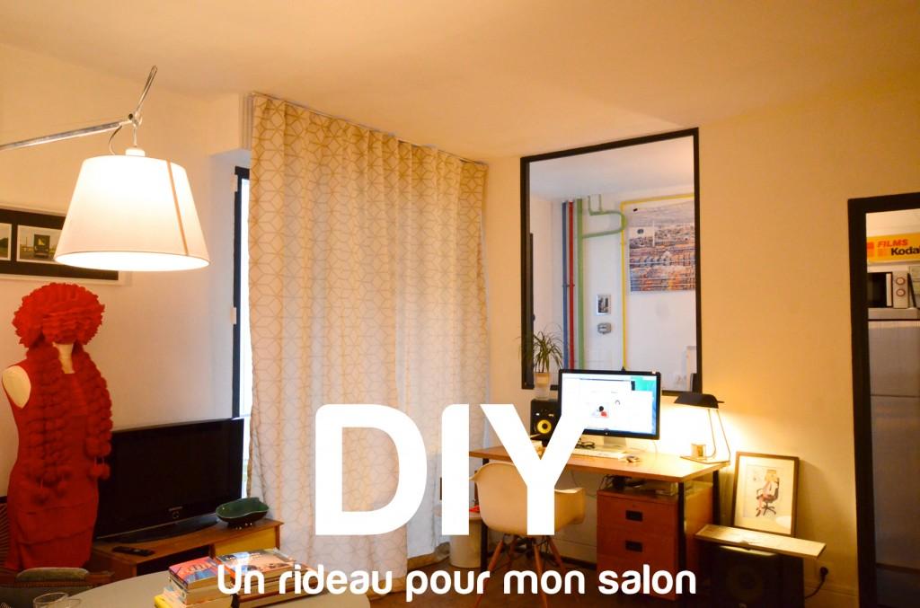 un rideau pour mon salon diy 22 bienvenue chez coline. Black Bedroom Furniture Sets. Home Design Ideas