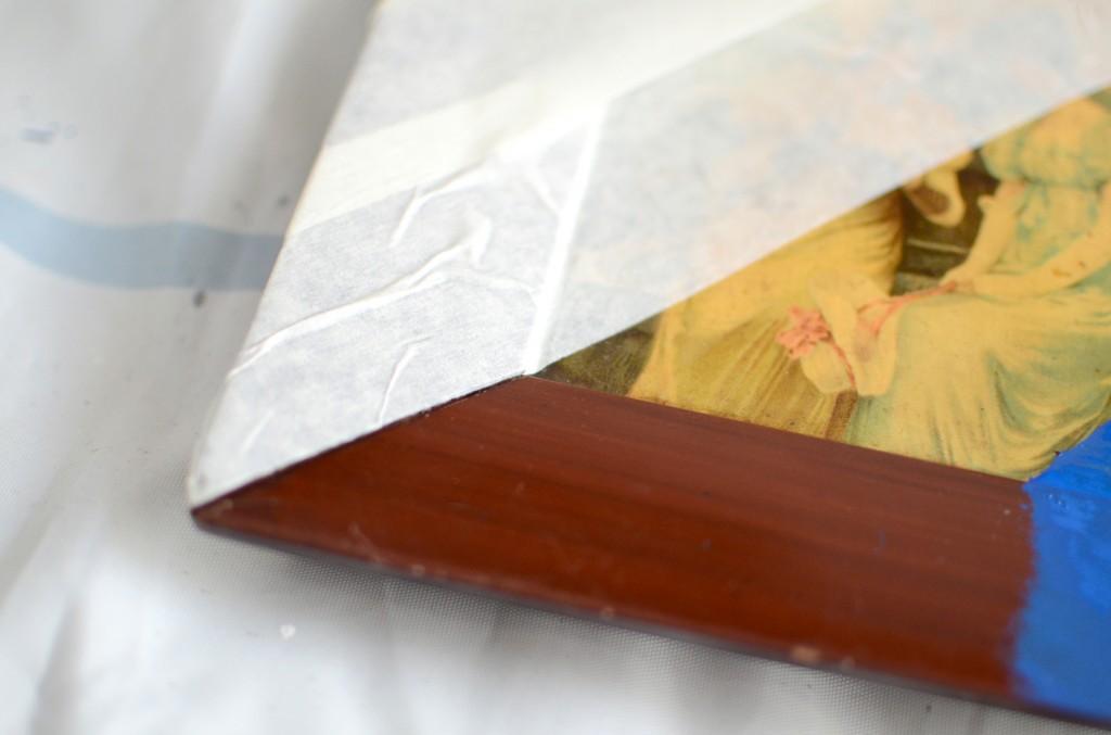 cadre vintage peinture (4)