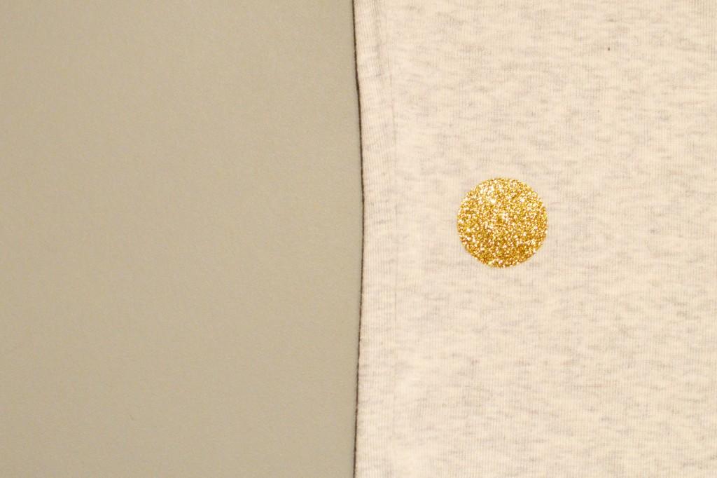 Tee-shirt à pois glitter et petit poisson japonais (14)
