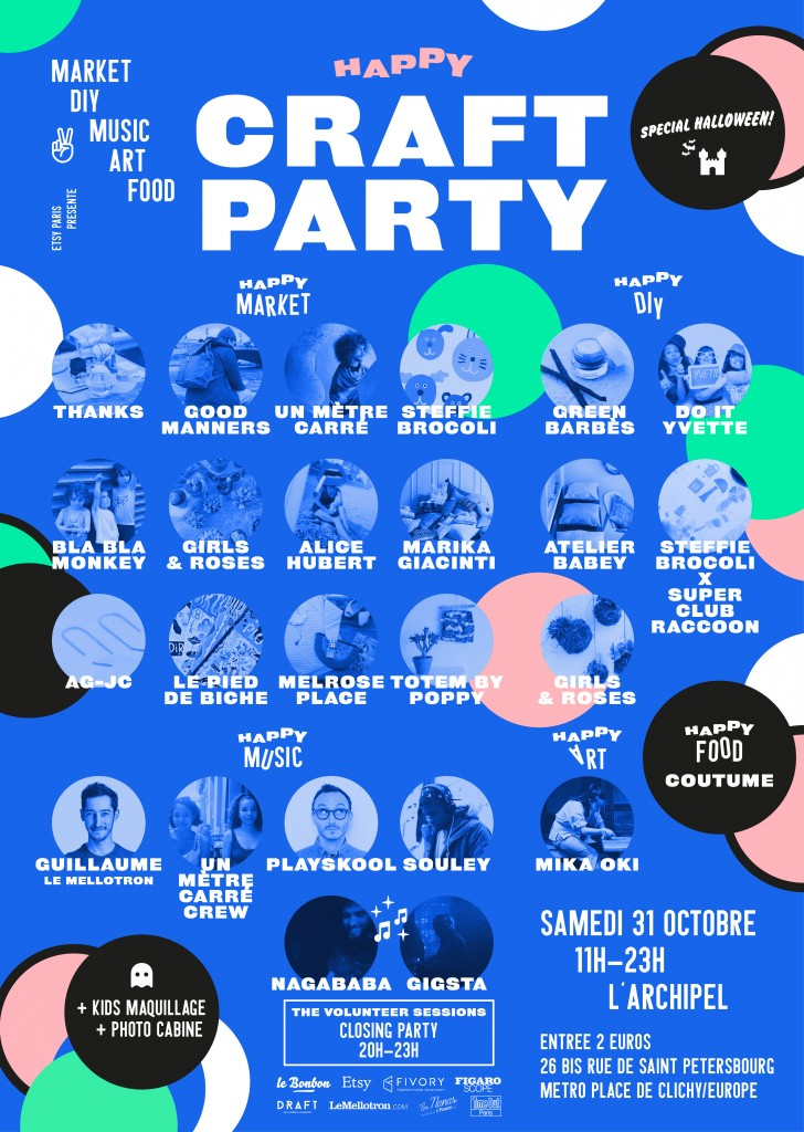affiche etsy-craft-party