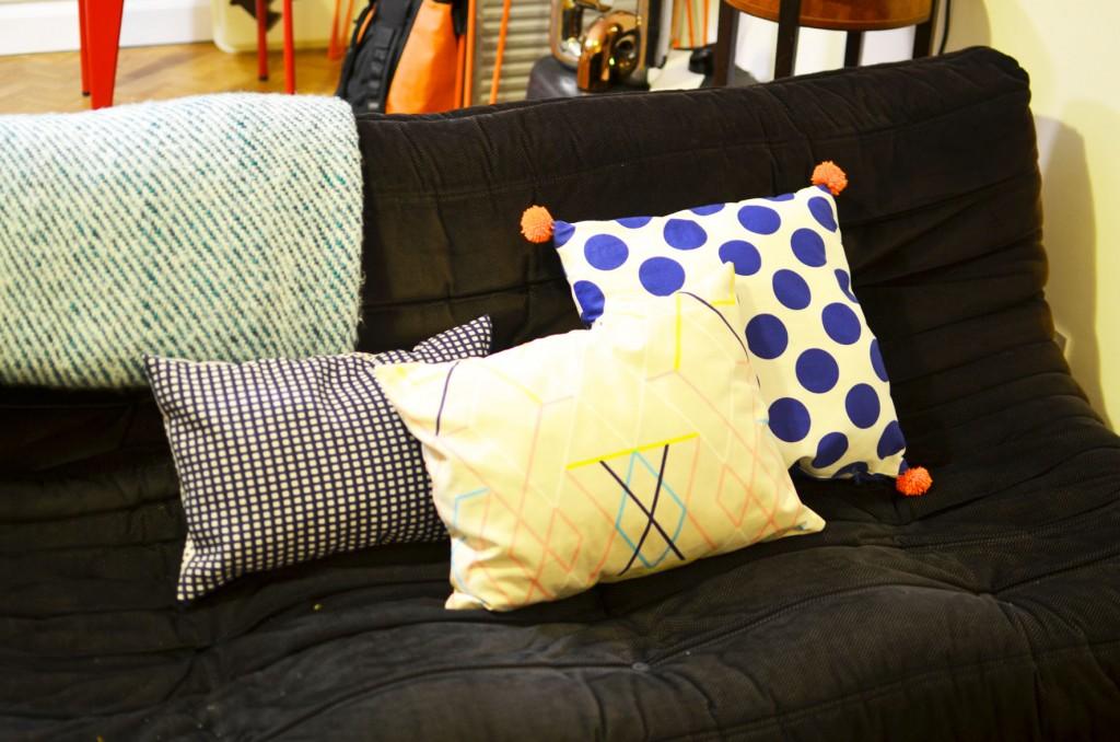 De nouveaux coussins sur mon canapé (2)