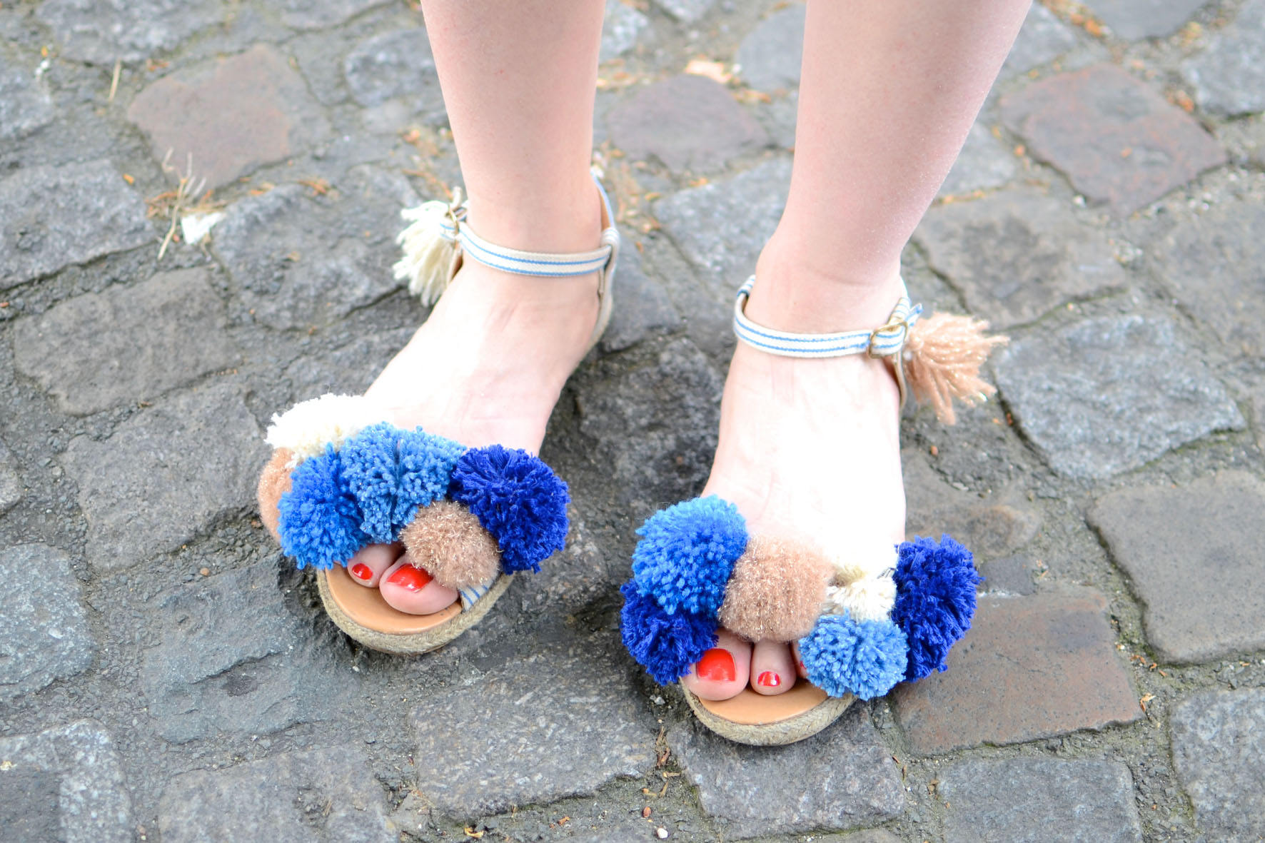 chaussures a pompons (4)