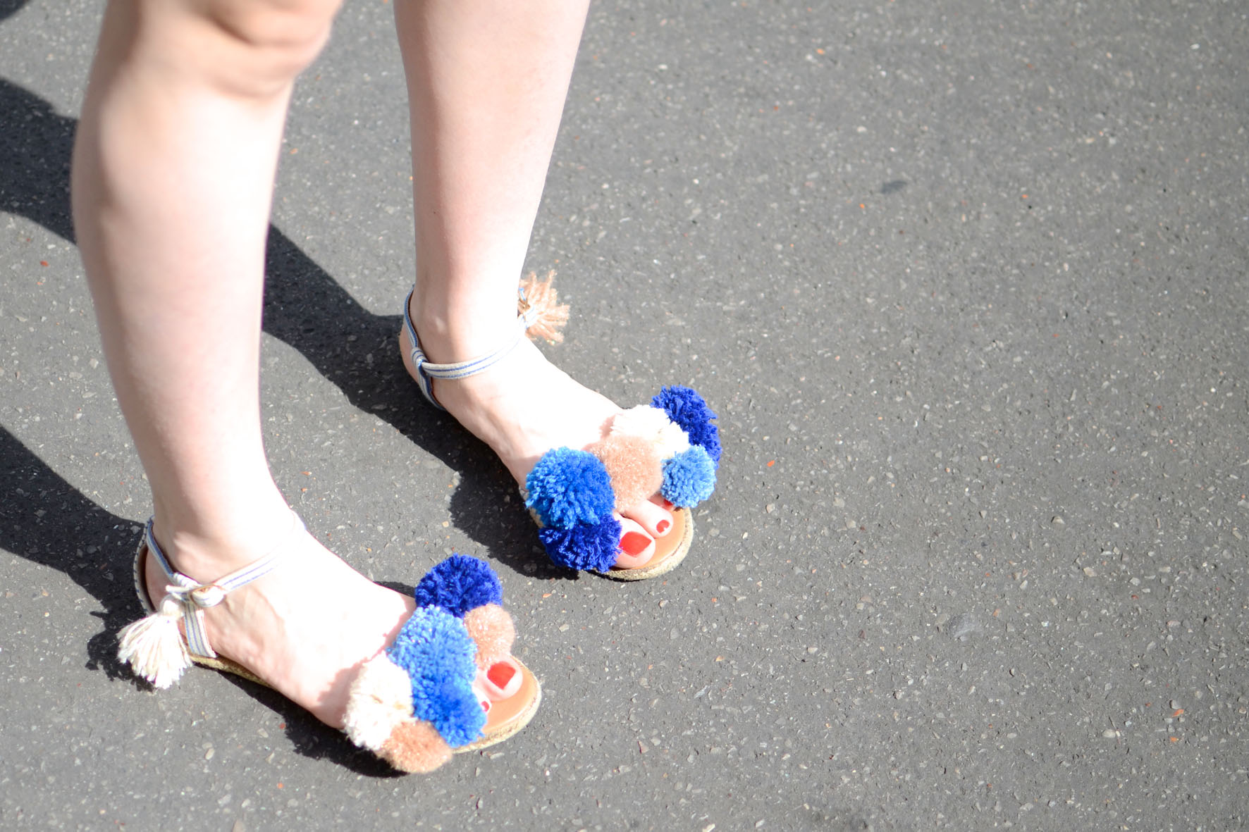 chaussures a pompons (6)